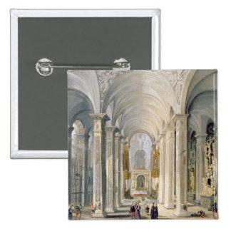 Interior of a Church 2 Pin
