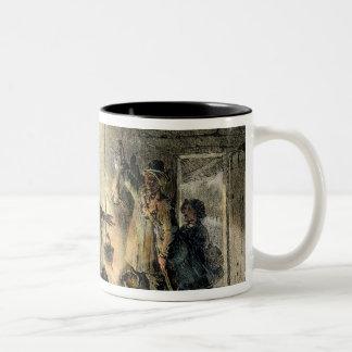 Interior of a Coal-Miner's Hut Coffee Mug