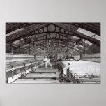 Interior of a Cotton Mill Print