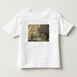 Interior of a Cree Indian Tent, March 25th 1820, f T Shirt