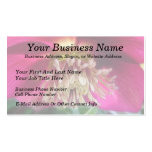 Interior Of A Delicate Spring Hellebore Flower Double-Sided Standard Business Cards (Pack Of 100)