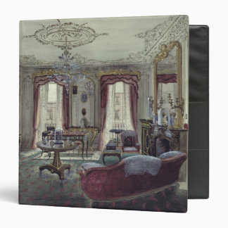 Interior of a drawing room binder