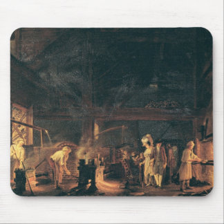 Interior of a Forge, 1771 Mouse Pad