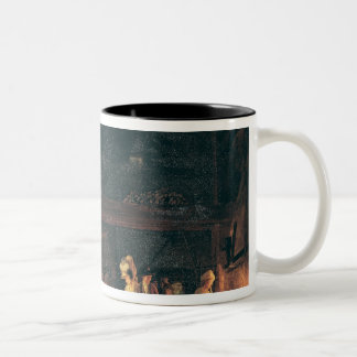 Interior of a Forge, 1771 Two-Tone Coffee Mug