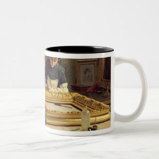 Interior of a Frame Gilding Workshop Two-Tone Coffee Mug