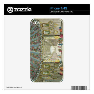 Interior of a Gallery Leading to Vauxhall Gardens Skins For iPhone 4