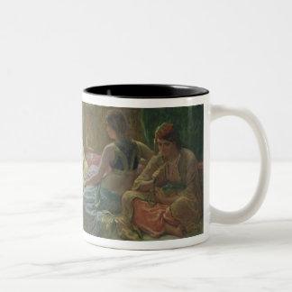 Interior of a Harem, c.1865 Two-Tone Coffee Mug