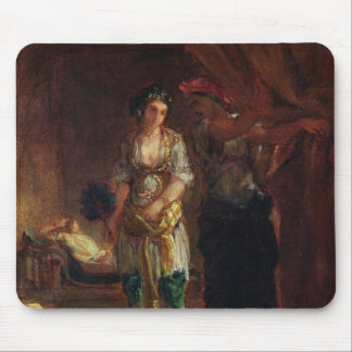 Interior of a Harem in Oran, c.1847 Mouse Pad