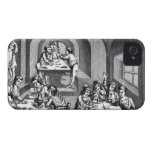 Interior of a hostelry, after a woodcut in a folio Case-Mate iPhone 4 case