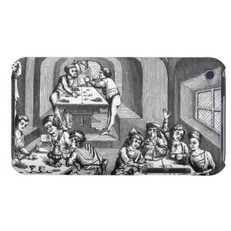 Interior of a hostelry, after a woodcut in a folio iPod touch cover