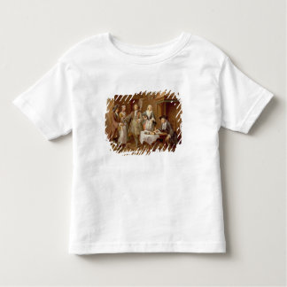 Interior of a Kitchen with Figures Tasting Wine Toddler T-shirt