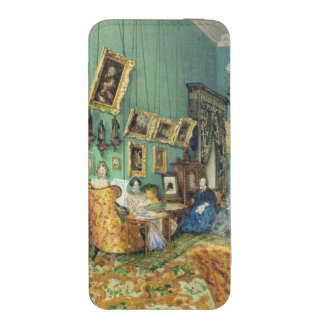 Interior of a living room, 1847 iPhone 5 pouch