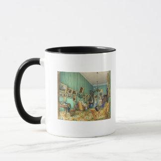 Interior of a living room, 1847 mug