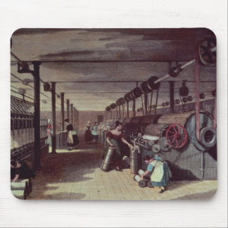 Interior of a mill mouse pad