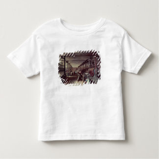 Interior of a mill toddler t-shirt