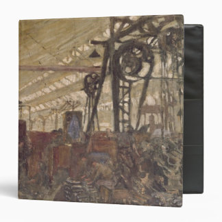 Interior of a Munitions Factory, 1916-17 3 Ring Binders
