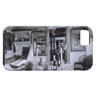 Interior of a Nile Boat (b&w photo) iPhone SE/5/5s Case