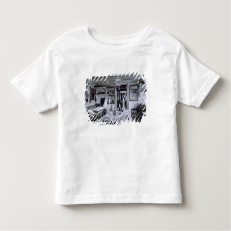 Interior of a Nile Boat (b&w photo) Toddler T-shirt