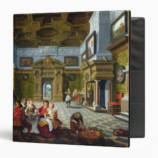 Interior of a Palatial Room, 1622 (oil on canvas) 3 Ring Binder