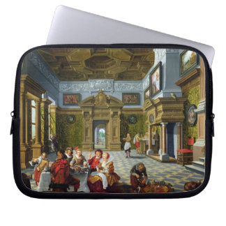 Interior of a Palatial Room, 1622 (oil on canvas) Computer Sleeve