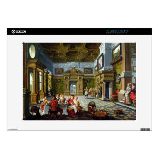 Interior of a Palatial Room, 1622 (oil on canvas) Decal For Laptop