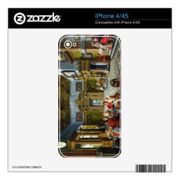 Interior of a Palatial Room, 1622 (oil on canvas) Decals For The iPhone 4