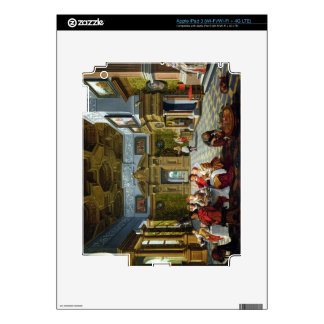 Interior of a Palatial Room, 1622 (oil on canvas) iPad 3 Skin