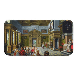 Interior of a Palatial Room, 1622 (oil on canvas) iPhone 4 Cover