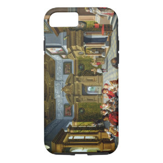 Interior of a Palatial Room, 1622 (oil on canvas) iPhone 7 Case