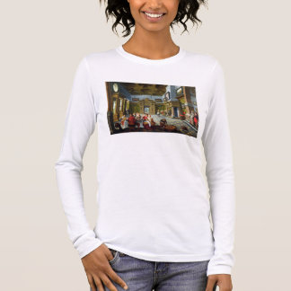 Interior of a Palatial Room, 1622 (oil on canvas) Long Sleeve T-Shirt