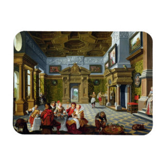 Interior of a Palatial Room, 1622 (oil on canvas) Magnet