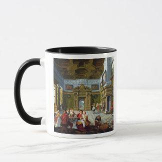 Interior of a Palatial Room, 1622 (oil on canvas) Mug