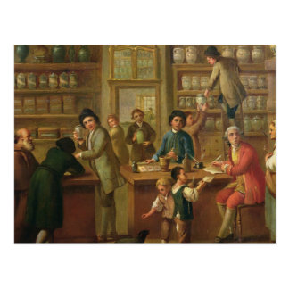 Interior of a Pharmacy Post Cards