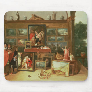 Interior of a Picture Gallery Mouse Pads