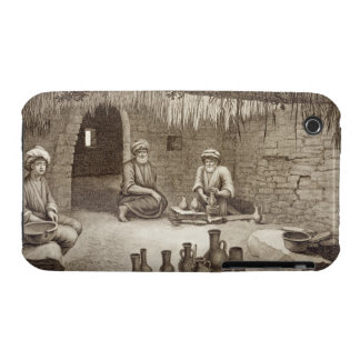 Interior of a Potter's Workshop, from Volume II Ar iPhone 3 Case-Mate Case
