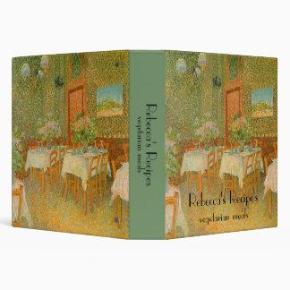 Interior of a Restaurant by Vincent van Gogh Binders