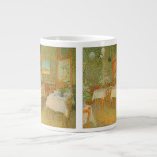 Interior of a Restaurant by Vincent van Gogh Giant Coffee Mug