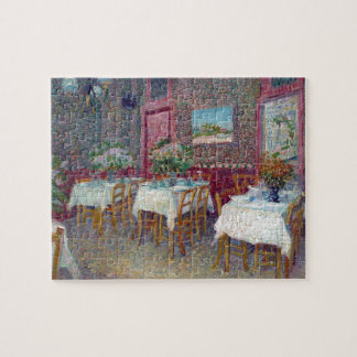 'Interior of a Restaurant' by Vincent Van Gogh Jigsaw Puzzles