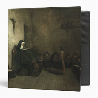 Interior of a School for Orphaned Girls, 1850 3 Ring Binders
