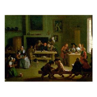Interior of a Schoolroom Postcard