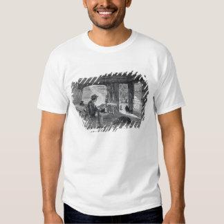 Interior of a settler's hut in Australia T-shirt