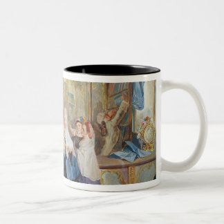 Interior of a Shop Two-Tone Coffee Mug