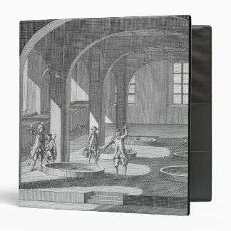Interior of a Soap Factory, illustration for an en Binders