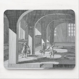 Interior of a Soap Factory, illustration for an en Mouse Pad