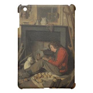 Interior of a Studio, 1845 (oil on canvas) iPad Mini Case