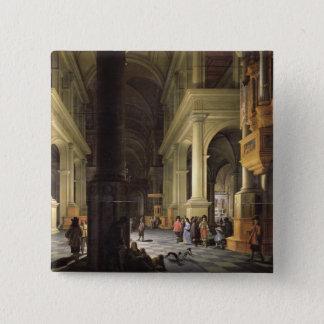 Interior of a Temple, 1652 Button
