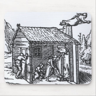 Interior of a Witch's House, 1579 Mouse Pad