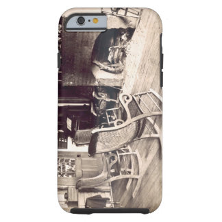 Interior of an American wooden shack, c.1880s (pho Tough iPhone 6 Case