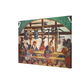 Interior of an Inn Canvas Print