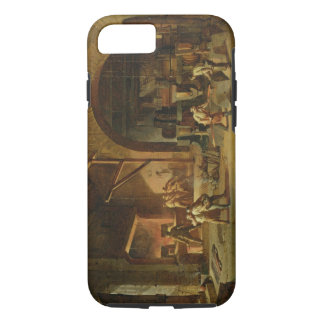 Interior of an Ironworks, 1850 (oil on canvas) iPhone 7 Case